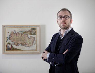 Curator Luigi Fassi, photo credit Ivan Capra