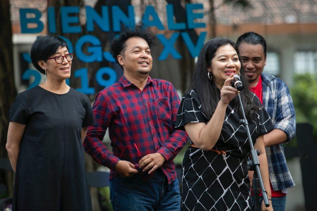 Curator Alia Swastika, Talk at Biennale Jogja 2019