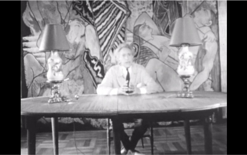 Jean Cocteau in 1962 addressing the people of the year 2000