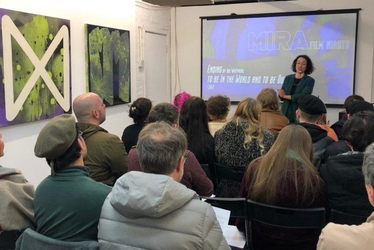 Curator Nuria López de la Oliva Talk at MIRA Film Nights, PS Mirabel 2020