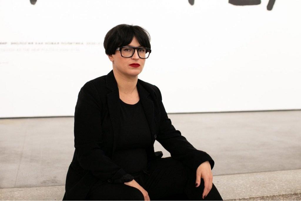 Curator Snejana Krasteva