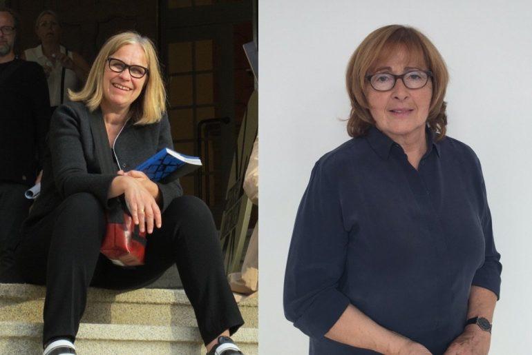 Julia Sökeland and Anita Beckers