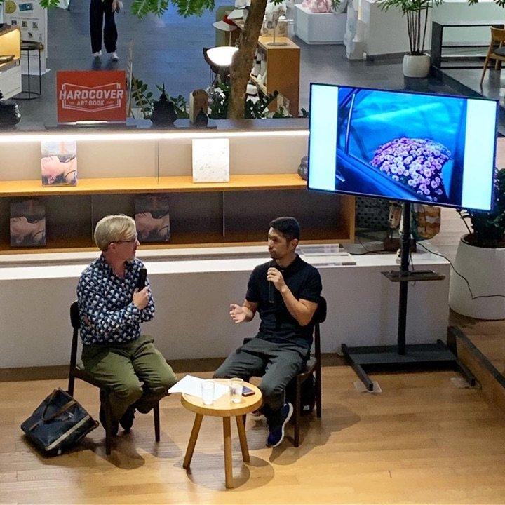 Brian Curtin in conversation with Shen Wei Open House Bookshop Bangkok 2019