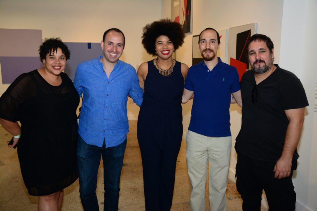 Aldeide Delagdo at Solid Abstraction. Miami Biennale. 2018. Courtesy Pedro Avendaño