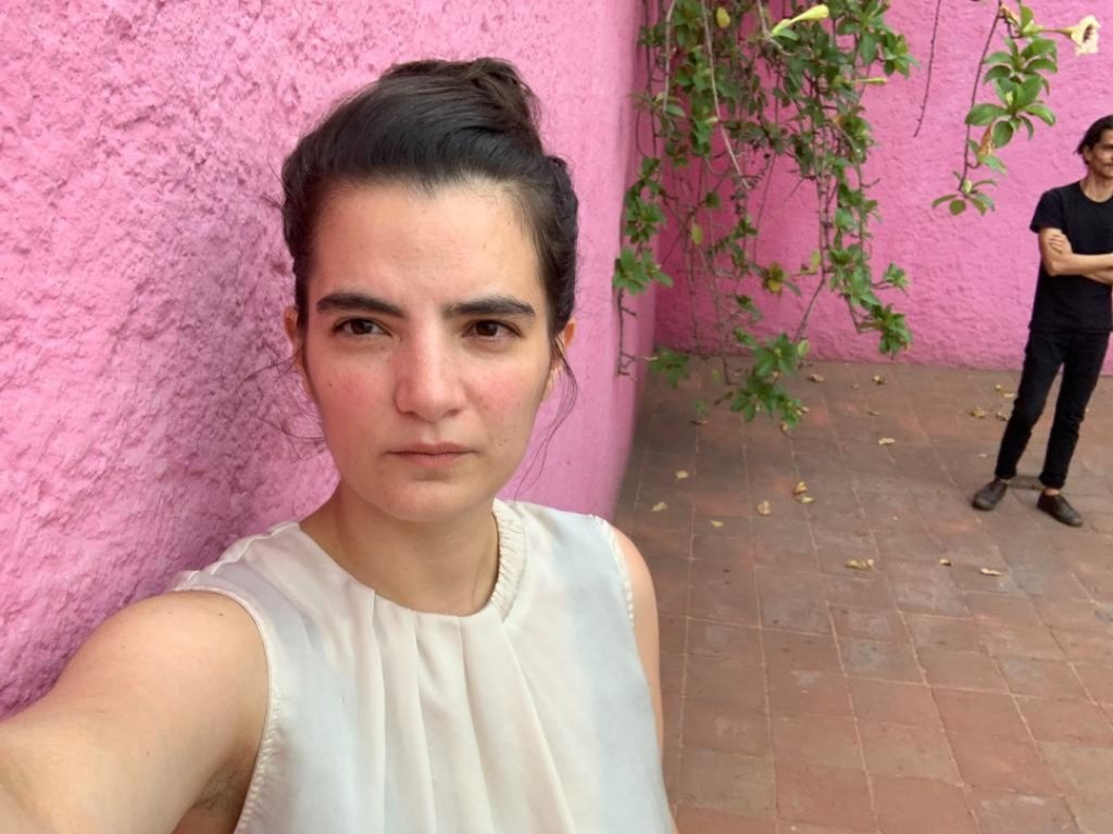Natalia Valencia Arango, selfie