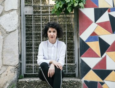 Curator Naz Cuguoglu. Photography Nazli Erdemirel