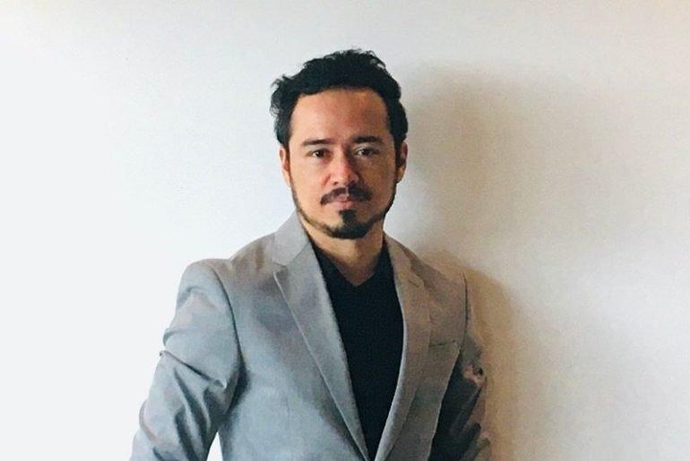 Curator Pablo Jose Ramirez. Photogrpahy Luis Alvarado