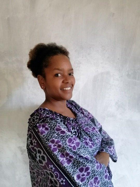 Curator Lydia Gatundu Galavu