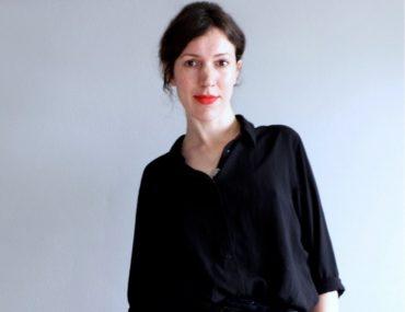 Curator Lauren Reid. 2019