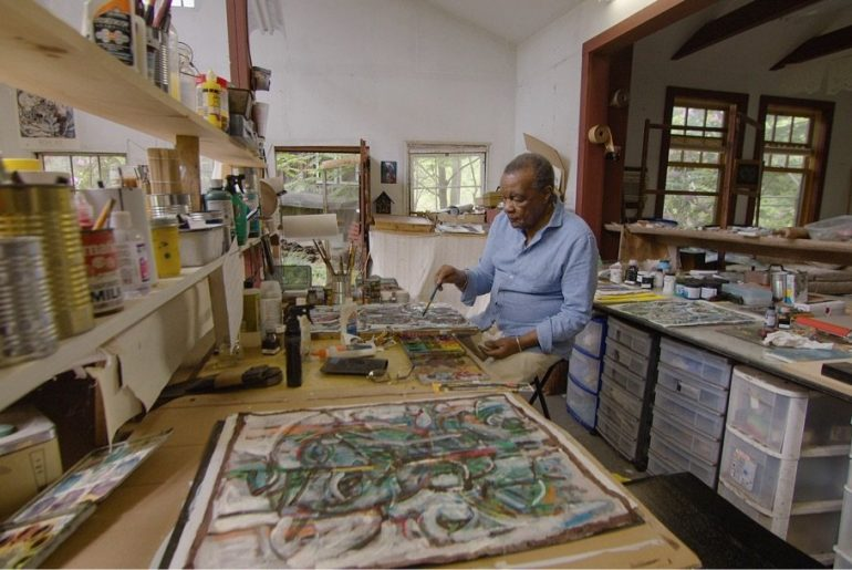 Curator David Driskell. Photograph by Courtesy of HBO