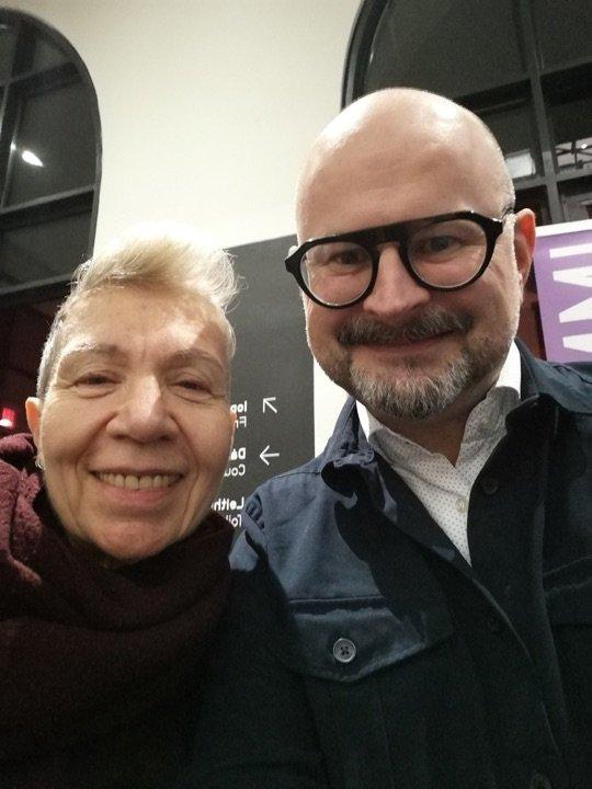 Sean Kissane With Élisabeth Lebovici, Derek Jarman Conference. IMMA. 2019