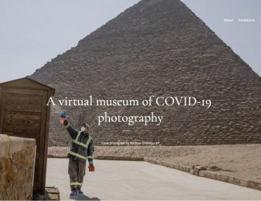 Covid Photo Museum Landing page