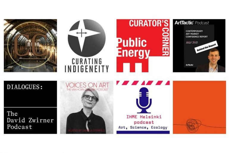 An eclectic list of art-themed podcasts that draw you in