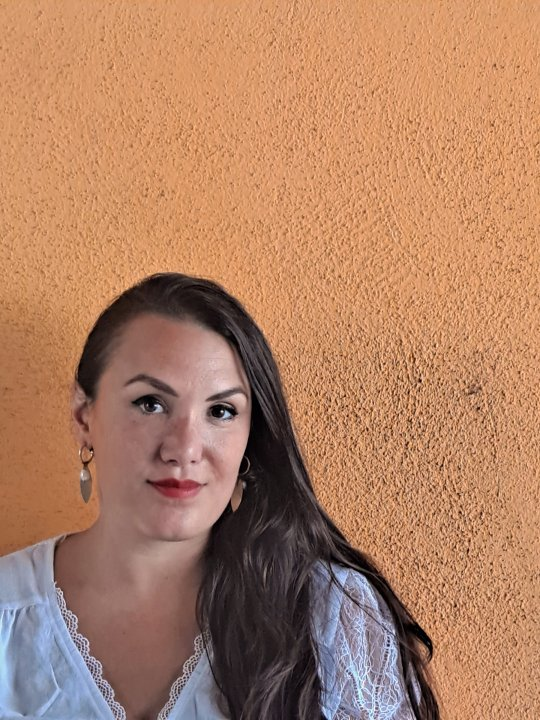 Curator Madeleine Filippi. Photograhy A.Drasko