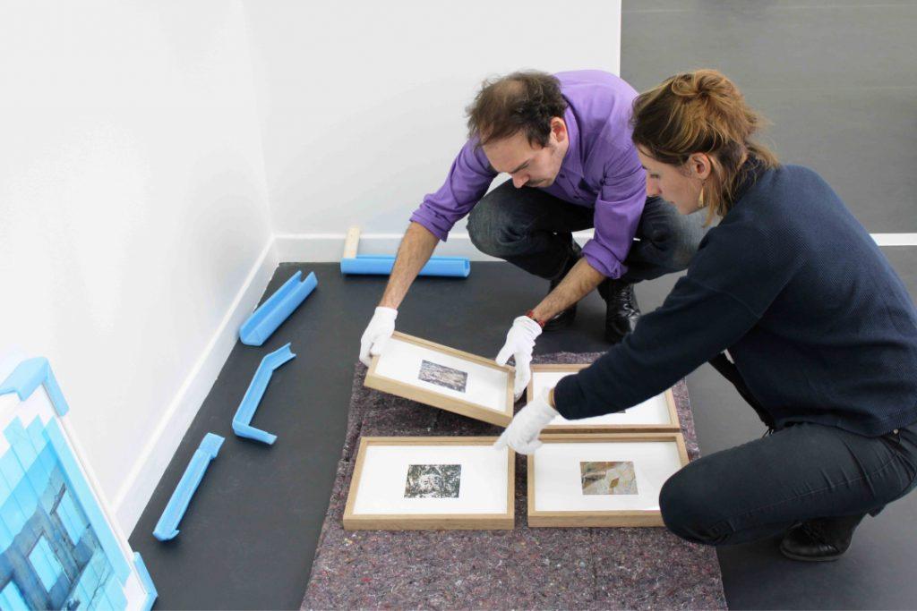 Camille Pradon, Installation with Adrien Chevrot. 2020. Annecy