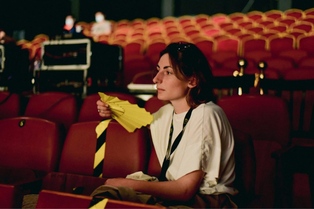 Camille Pradon. Courtesy Gabes Cinema Fen film festival. 2021