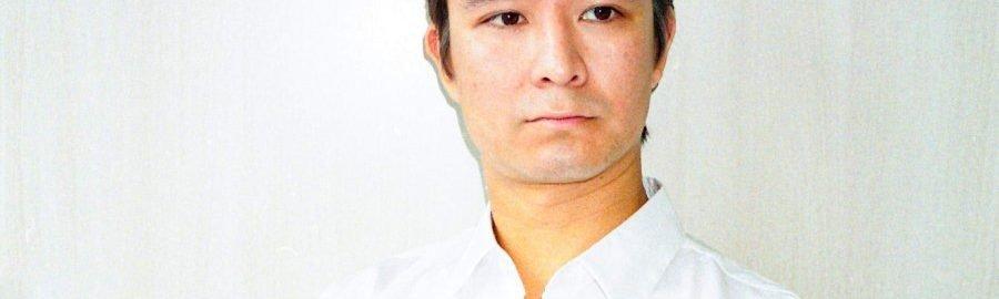 Artist and Curator Vincent Ruijters. Photography Masataka Kougou. 2019